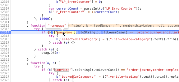 chrome developer tools breakpoint