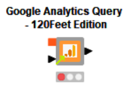 Google Analytics Connector | Knime | 120Feet Edition